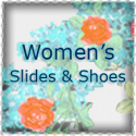 Women's Slides & Shoes ~ Arch Support ~ Indoor/Outdoor Soles
