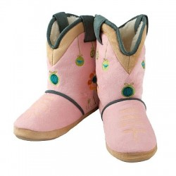 Cicciabella Sweet Petal Cowgirl Riders Boot Slippers
