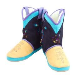 Cicciabella Summer Iris Cowgirl Riders Boot Slippers