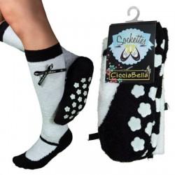 Black Mary Jane Sockettes