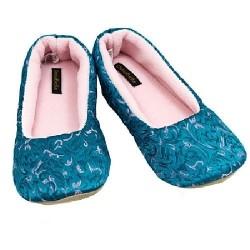Cicciabella Jade Isa Bella ~ Women's Satin Rayon Brocade Slippers