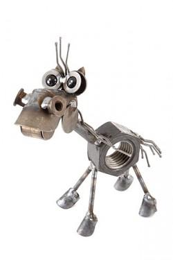 Chubby Nut Horse Sculpture