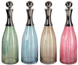 Jewel-Tone Decanters