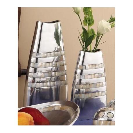Mother Of Pearl Inlaid Vases ~ Medium