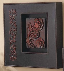 Embossed Wall Art ~ Left