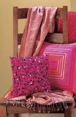 Elegant Fuchsia Pillows