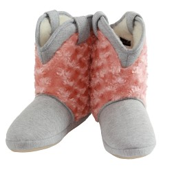Cicciabella Blush Cowgirl Riders Slipper Boots ~ Women's