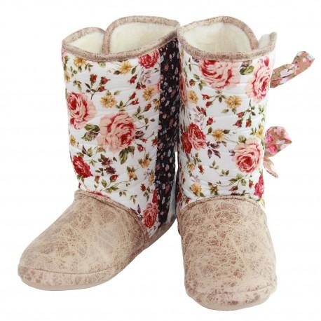 Cicciabella Fleur Cowgirl Riders Slipper Boots ~ Women's