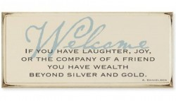 If You Have Laughter ~ Welcome