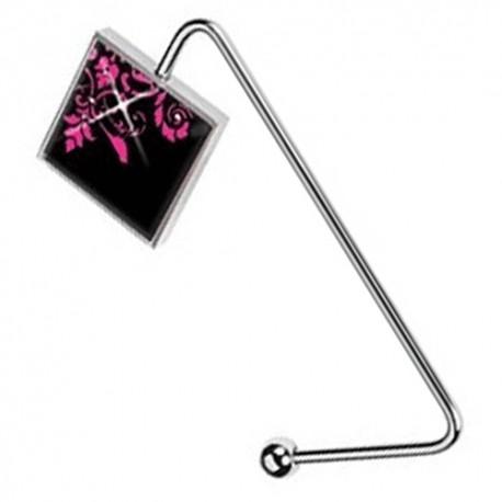 Purse Hanger ~ Pink Bird