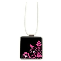 Necklace ~ Pink Bird